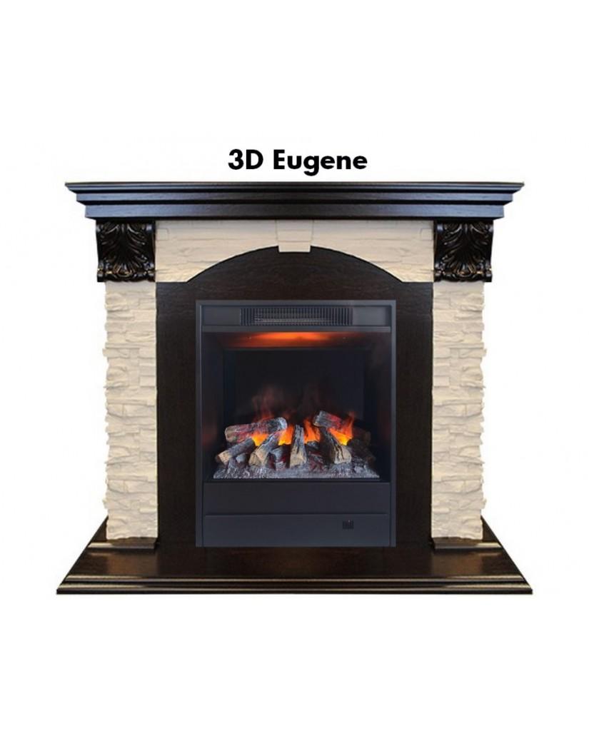 "Каминокомплект ""Dublin LUX 3D Eugene"""
