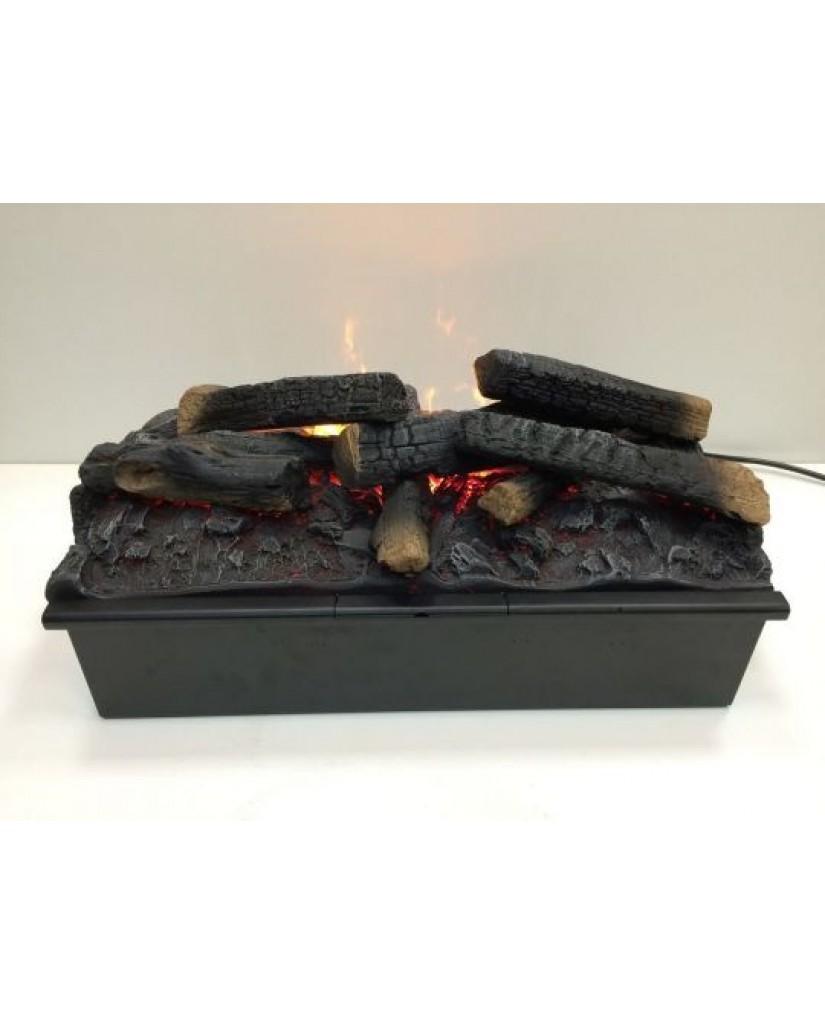 """Электрокамин """"3D Fog cassette"""" с эффектом живого огня"""