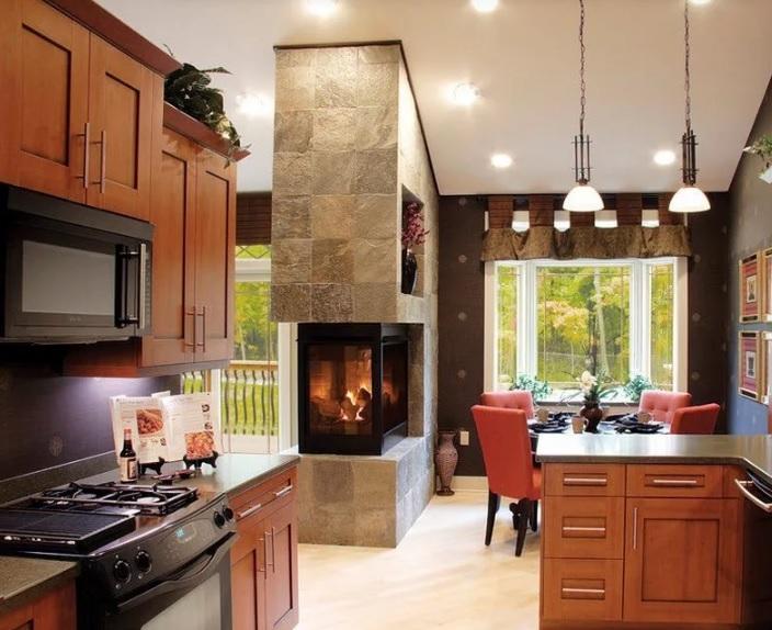 Электрические камины, оформление квартир и особняков